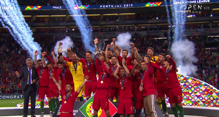H Πορτογαλία του «δάσκαλου» Φερνάντο Σάντος σήκωσε το πρώτο Nations League!