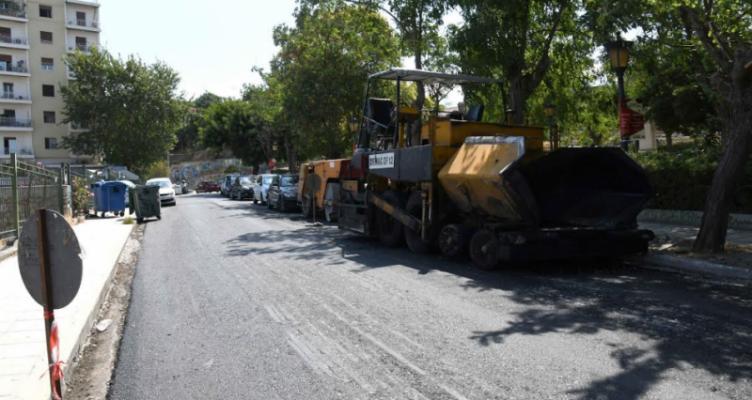 Συνεχίζονται οι ασφαλτοστρώσεις στον Δήμο Πατρέων