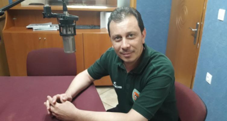 Ο Γιάννης Διαμαντάκος για τον Α.Ο. Αγρινίου και το 2ο Basketball Camp (Ηχητικό)