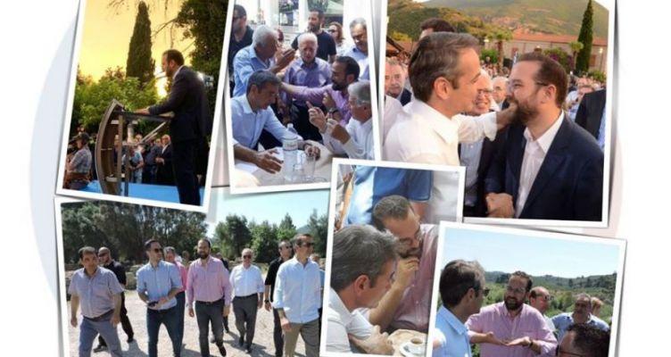 Ν. Φαρμάκης: Ένα διήμερο γεμάτο Αχαΐα και Ηλεία, γεμάτο Δυτική Ελλάδα