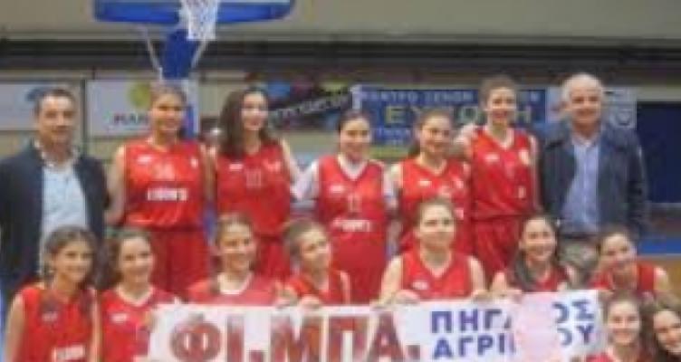 ΦΙ.ΜΠΑ. – ΠΗΓΑΣΟΣ: Προκριματικά Πανελληνίου Πρωταθλήματος Κορασίδων