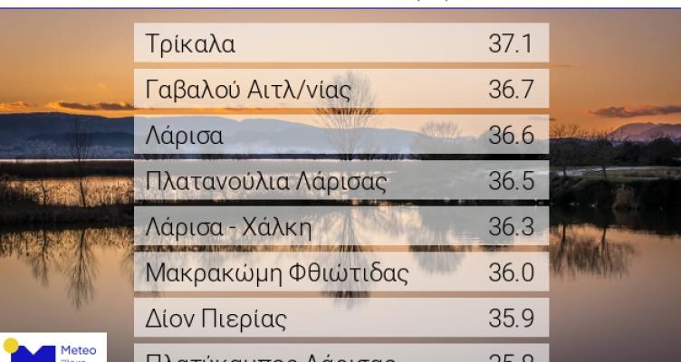 Ξανά στις πρώτες θέσεις η Γαβαλού Αιτωλοακαρνανίας – 36,7 βαθμούς
