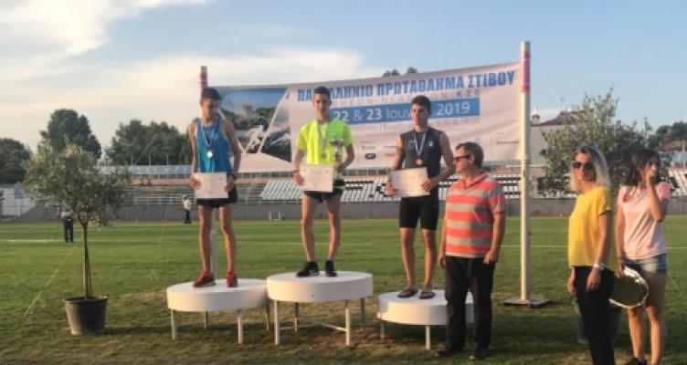 Γ.Ε.Α.: Πρωταθλητής Ελλάδας στους εφήβους ο Νίκος Σταμούλης