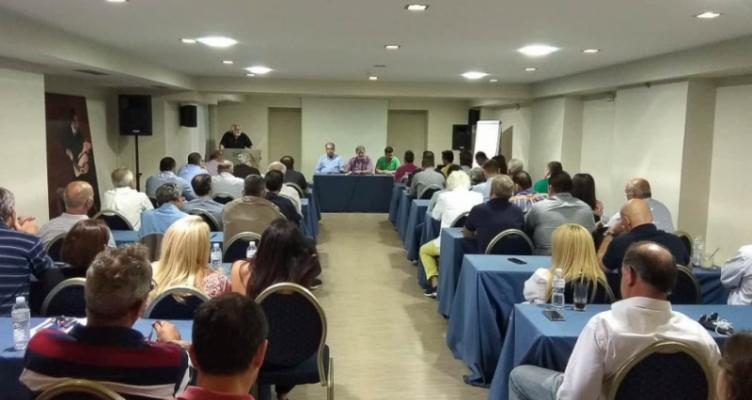 Αγρίνιο: Με μεγάλη συμμετοχή η Γενική Συνέλευση των μελών του Συνδέσμου Ε.Ν.Α.