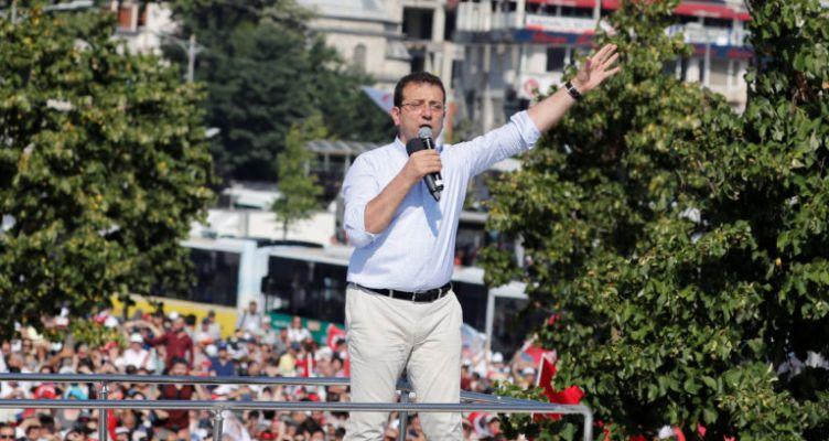 Ιμάμογλου: Οι «αιχμές» κατά του Ερντογάν και το «ευχαριστώ» στους Έλληνες