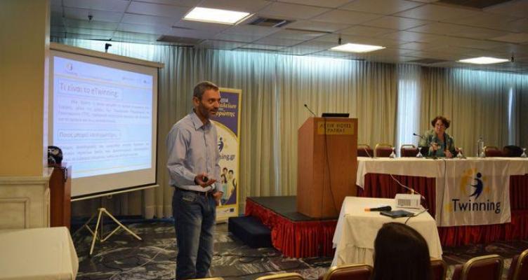 Παρακολούθηση ημερίδων eTwinning και Scientix για εκπαιδευτικούς Αιτωλοακαρνανίας