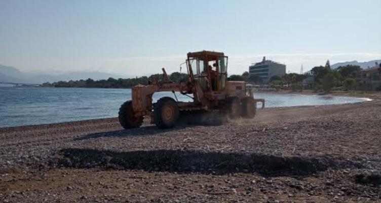 Δήμος Πατρέων: Εργασίες καθαρισμού και διαμόρφωσης της παραλιακής ζώνης