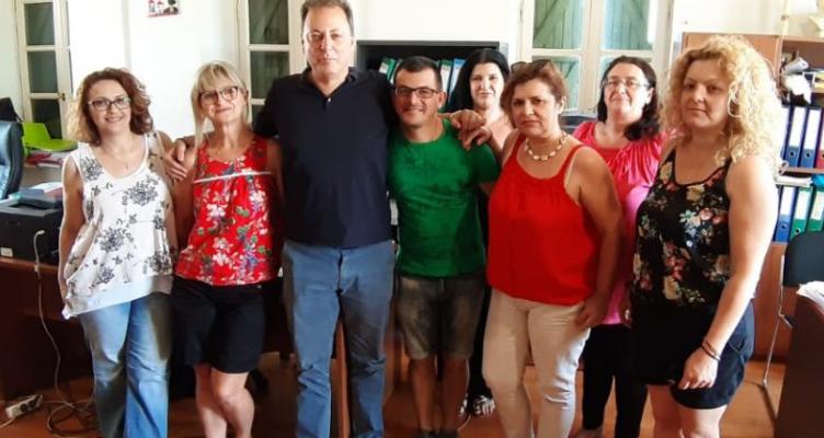 Επίσκεψη του Σπήλιου Λιβανού στην ΚΕΚΑΠ Μεσολογγίου