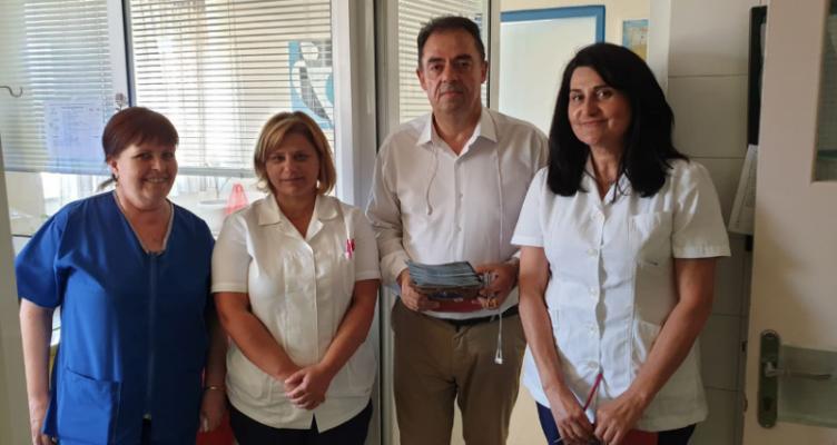 Επίσκεψη Δ. Κωνσταντόπουλου στο Νοσοκομείο του Μεσολογγίου «Χατζηκώστα»