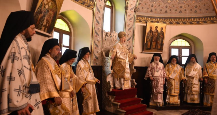 Η Κυριακή της Πεντηκοστής στο Οικουμενικό Πατριαρχείο