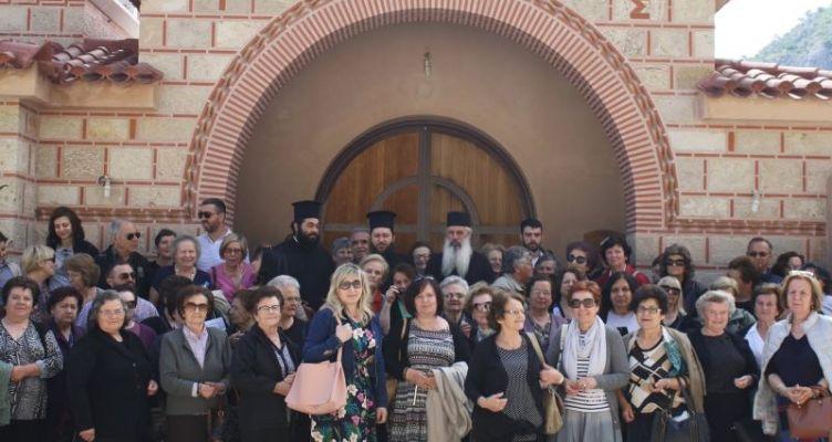 Ι.Ν. Αγίας Τριάδος Αγρινίου: Προσκυνηματική εκδρομή της ενορίας μας στην Κορινθία και Αρκαδία