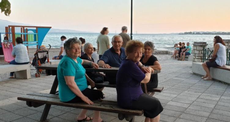 Ο Σάκης Τορουνίδης συνέχισε τις επαφές του στην Ναύπακτο