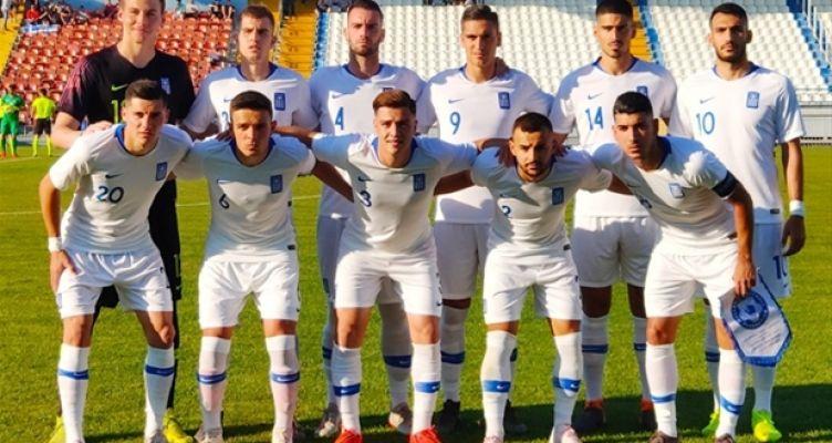 Κ21: Ελλάδα – Σαν Μαρίνο 5-0 με βασικό τον Άγγελο Τσιγγάρα του Παναιτωλικού