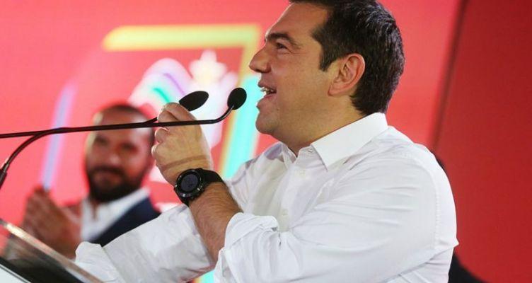 Εισήγηση του Αλ. Τσίπρα σε συζήτηση στην Ακράτα στο πλαίσιο περιοδείας του στην Αχαΐα