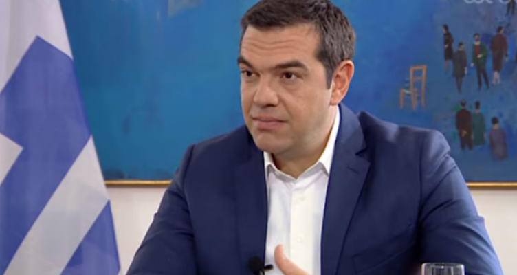 """Δημοσιογράφος προς Τσίπρα: «Θα ακούσουμε εάν χρειαστεί """"βυθίσατε το Γιαβούζ"""";» (Βίντεο)"""