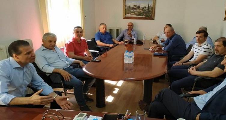 Επίσκεψη Γιώργου Βαρεμένου στην Ένωση Αγρινίου