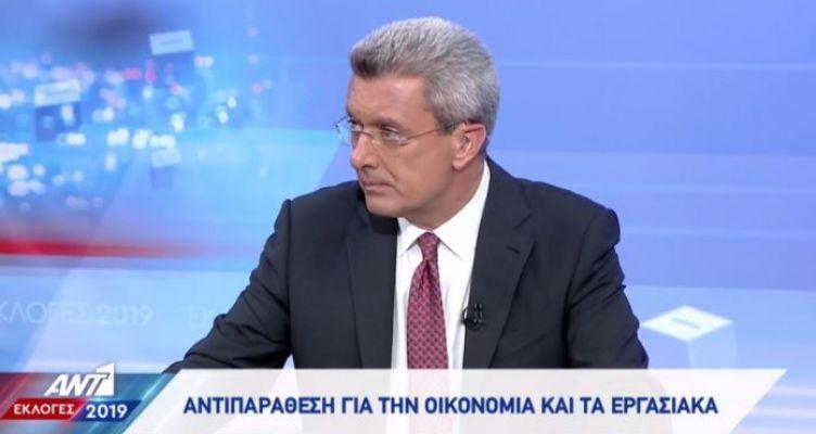 Δεν πάει στο debate των πολιτικών αρχηγών ο Νίκος Χατζηνικολάου