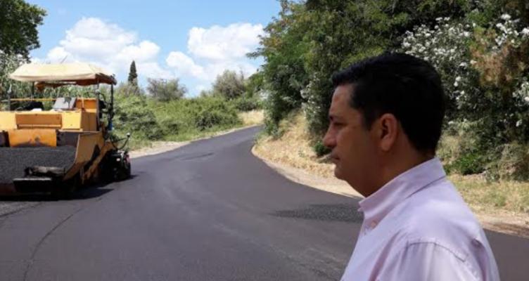 Δήμος Αγρινίου: Ασφαλτοστρώσεις στον Άγιο Κωνσταντίνο (Φωτό)