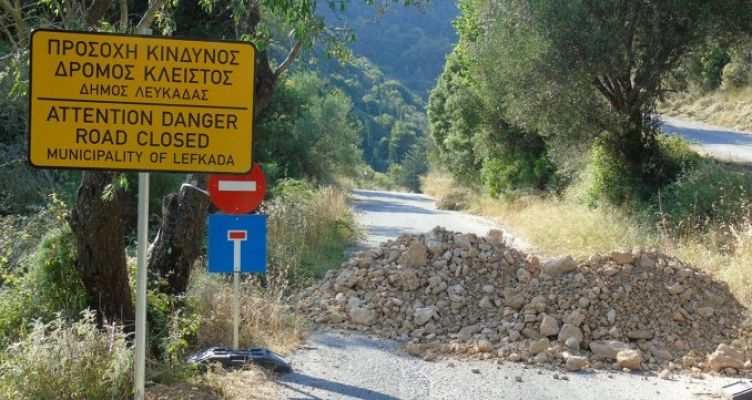 Δήμος Λευκάδας: Υπεγράφη η σύμβαση για τον δρόμο της Λαγκάδας