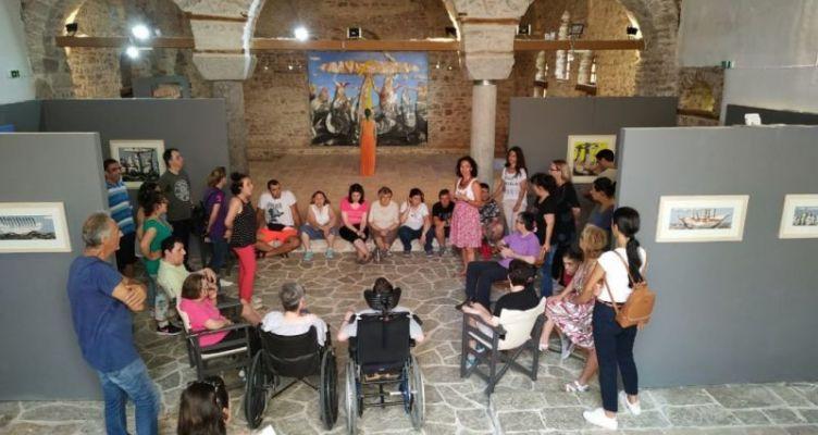 Ναύπακτος: Στην έκθεση «ΧΟΥΣ» στο Φετιχέ Τζαμί η Αλκυόνη (Φωτό)