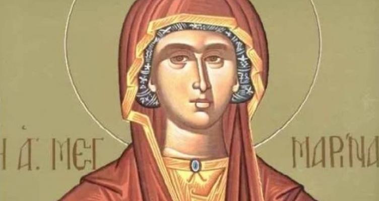 Πανηγυρίζει ο Ι.Ν. Αγίας Μαρίνας στην Ματαράγκα Αγρινίου