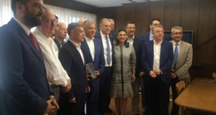 Ο Νεκτάριος Φαρμάκης στο Υπουργείο Εσωτερικών – Η αναφορά που έκανε για την απλή αναλογική