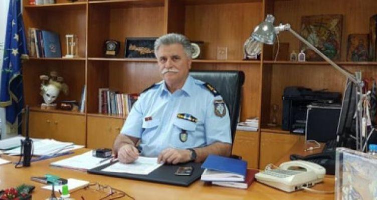Νικόλαος Σπανουδάκης: Γενικός Περιφερειακός Αστυνομικός Διευθυντής Δ. Ελλάδας