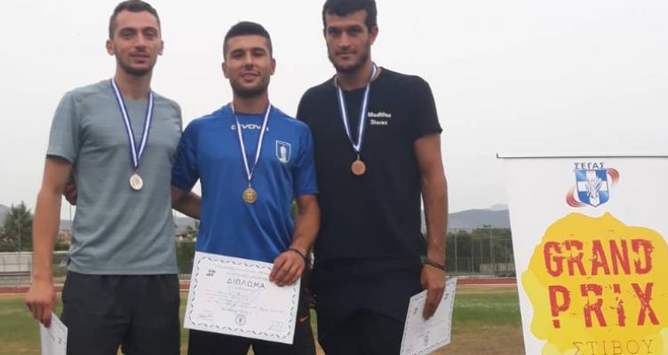 Ο Αγρινιώτης Κωνσταντίνος Σαράκης τερμάτισε 2ος σε αγώνα Grand Prix