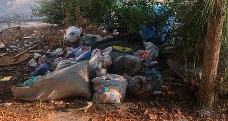 Αγρίνιο: Καταγγελία δημότη για την περιοχή του Πάρκου (Φωτό)