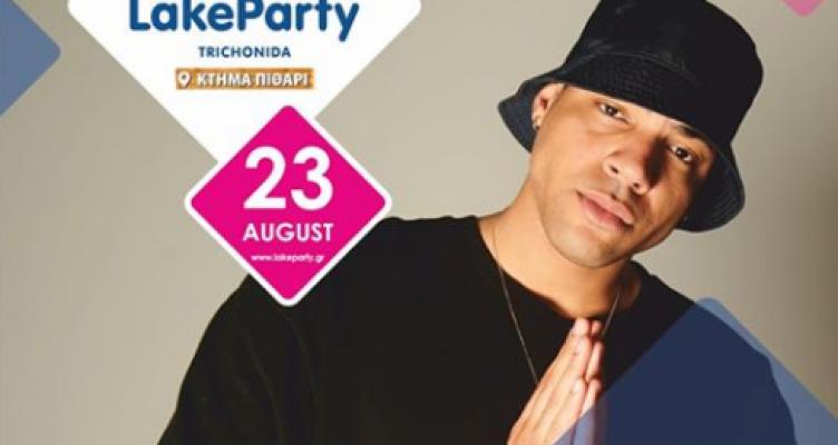 ΟSteveπου είναι διεθνώς αναγνωρισμένος MC, DJ στις 23 Αυγούστου στη Λίμνη Τριχωνίδα!