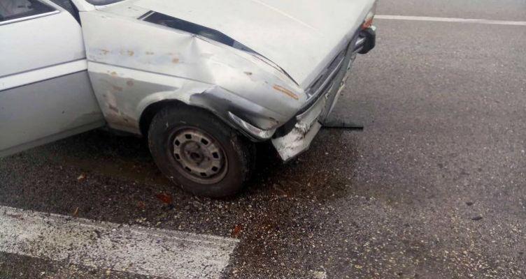 Αγρίνιο: Τροχαίο ατύχημα με ελαφρύ τραυματισμό γυναίκας στην Εθνική Οδό (Φωτό)