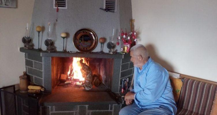 Άναψαν τα τζάκια ανήμερα της Αγίας Μαρίνας στην Ορεινή Ναυπακτία