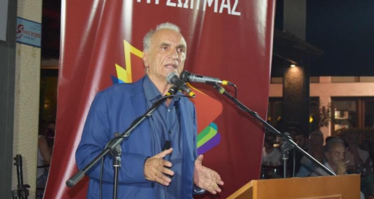 """Γ. Βαρεμένος σε μεγάλη συγκέντρωση στο Αγρίνιο: """"Η Ελλάδα δεν κληρονομείται""""'"""