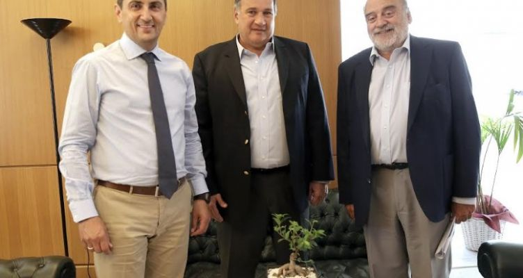 Συνάντηση Λ. Αυγενάκη με το προεδρείο της Ε.Ο.Ε.