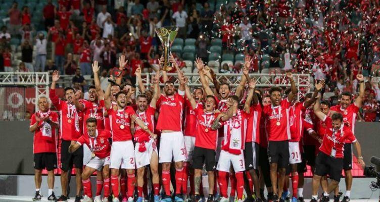 Μπενφίκα: Οι «αετοί» της Λισαβόνας κατέκτησαν το 8ο Σούπερ Καπ Πορτογαλίας!