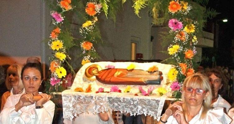 Αντίρριο: Ἱερά Ἀκολουθία προς τιμήν τῆς Παναγίας