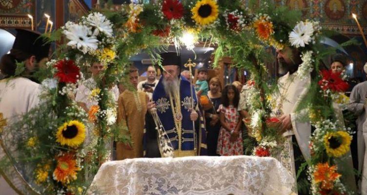 Επιτάφιος της Παναγίας στο Αντίρριο, Ιερός Ναός Αγίου Νικολάου