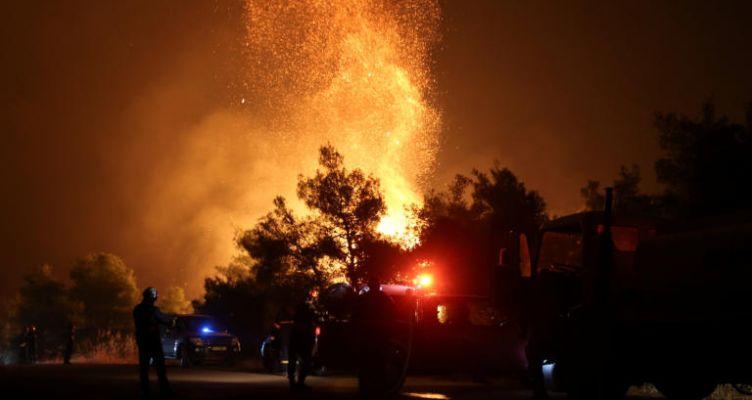 Φωτιά Εύβοια: Έργο εμπρηστών η καταστροφική πυρκαγιά; (Βίντεο)