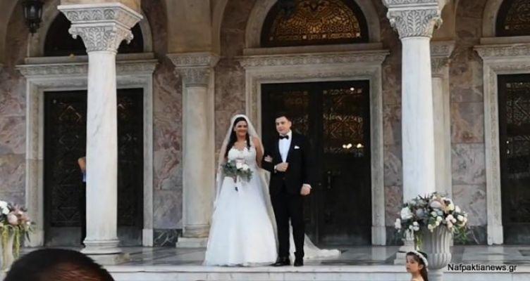 Λαμπερός γάμος με άρωμα… Ναυπακτίας στην Πάτρα! (Βίντεο)