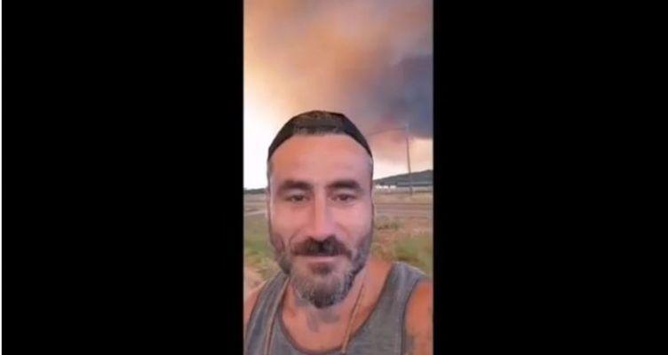Συγκλονίζουν τα βίντεο του Γιώργου Μαυρίδη από τη φωτιά στην Εύβοια (Βίντεο)