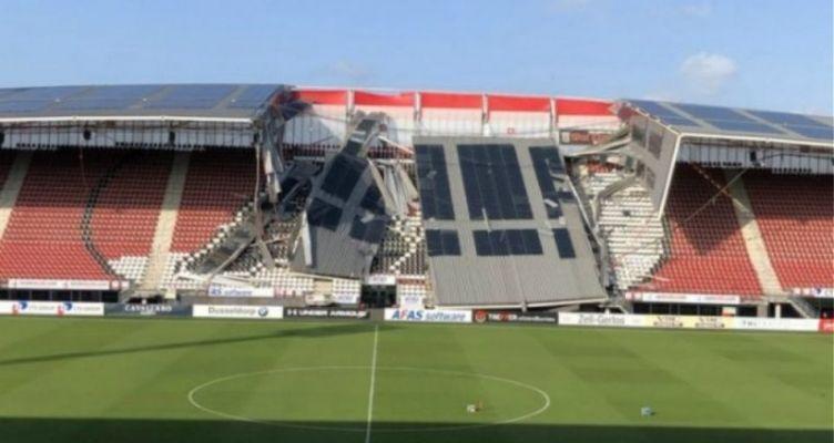 Ολλανδία: Κατέρρευσε το στέγαστρο στο γήπεδο της AZ Άλκμααρ