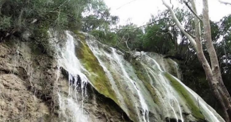 O άγνωστος καταρράκτης στη Γαβρολίμνη (Βίντεο)