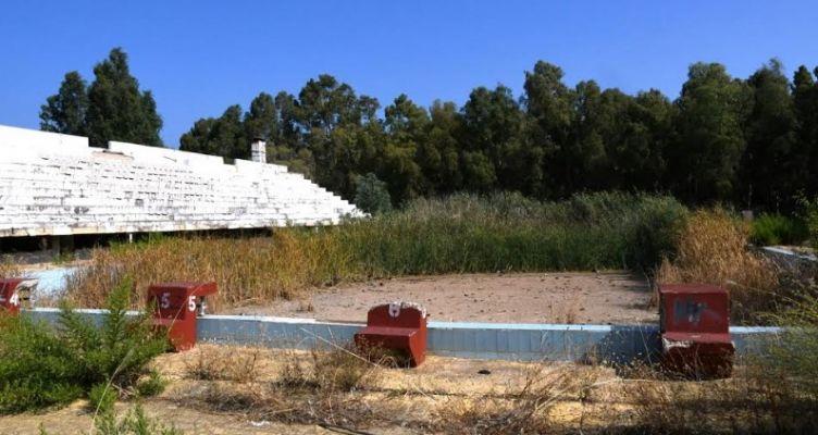 Καθαρισμός και μετατροπή του χώρου του κολυμβητηρίου σε χώρο στάθμευσης