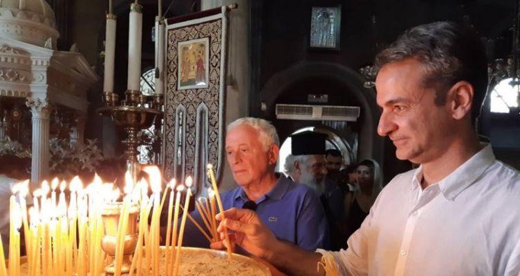 Επίσκεψη του Πρωθυπουργού Κυριάκου Μητσοτάκη στην Τήνο