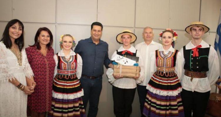 Δήμος Αγρινίου: Υποδοχή Αντιπροσωπειών Χορευτικών Συγκροτημάτων