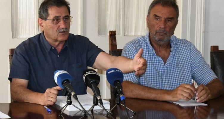 Συνέντευξη τύπου του Δημάρχου Πατρέων για τους Παράκτιους Μεσογειακούς Αγώνες