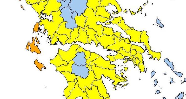 Yψηλός ο κίνδυνος πυρκαγιάς την Πέμπτη σε όλη τη Δυτική Ελλάδα
