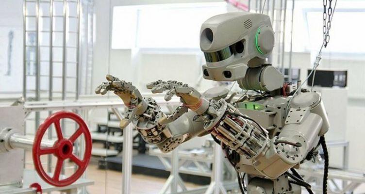 Η Ρωσία έστειλε στον Διεθνή Διαστημικό Σταθμό το πρώτο της ανθρωποειδές ρομπότ (Βίντεο)