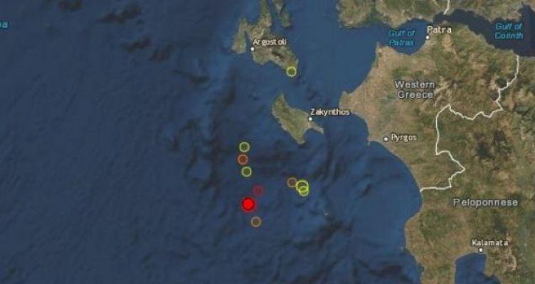 Σεισμός 4,5R «ταρακούνησε» τα ξημερώματα τη Ζάκυνθο