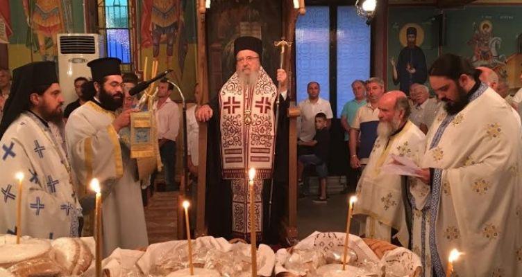 Σπολάιτα Αγρινίου: Εορτάζει και πανηγυρίζει ο ενοριακός Ι.Ν. της Κοιμήσεως της Θεοτόκου